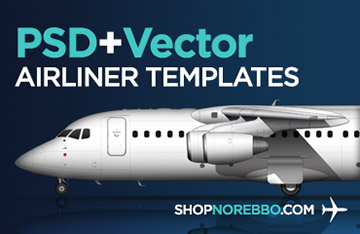 norebbo airliner template source files