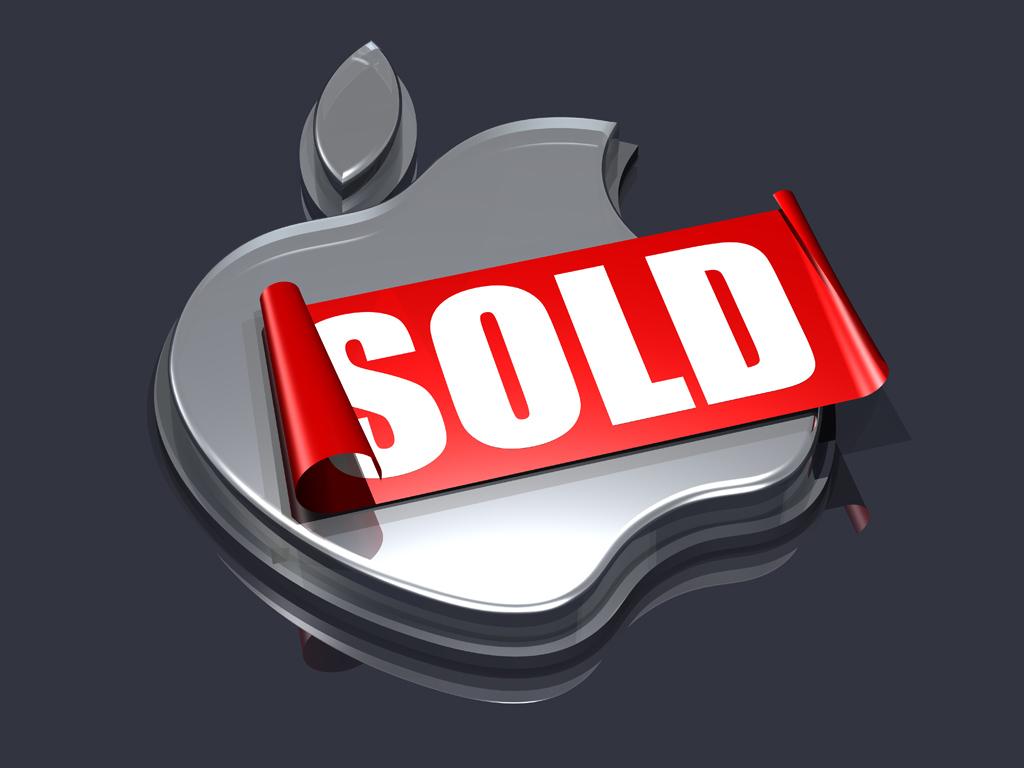 3d apple logos by norebbo