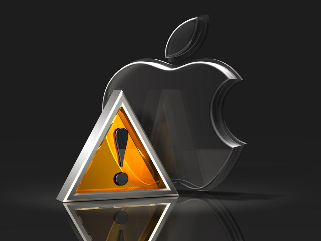 3d glass apple logos by norebbo