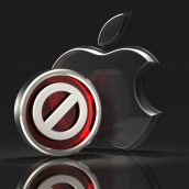 Apple Logo and Void Symbol