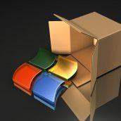 Microsoft Software Box