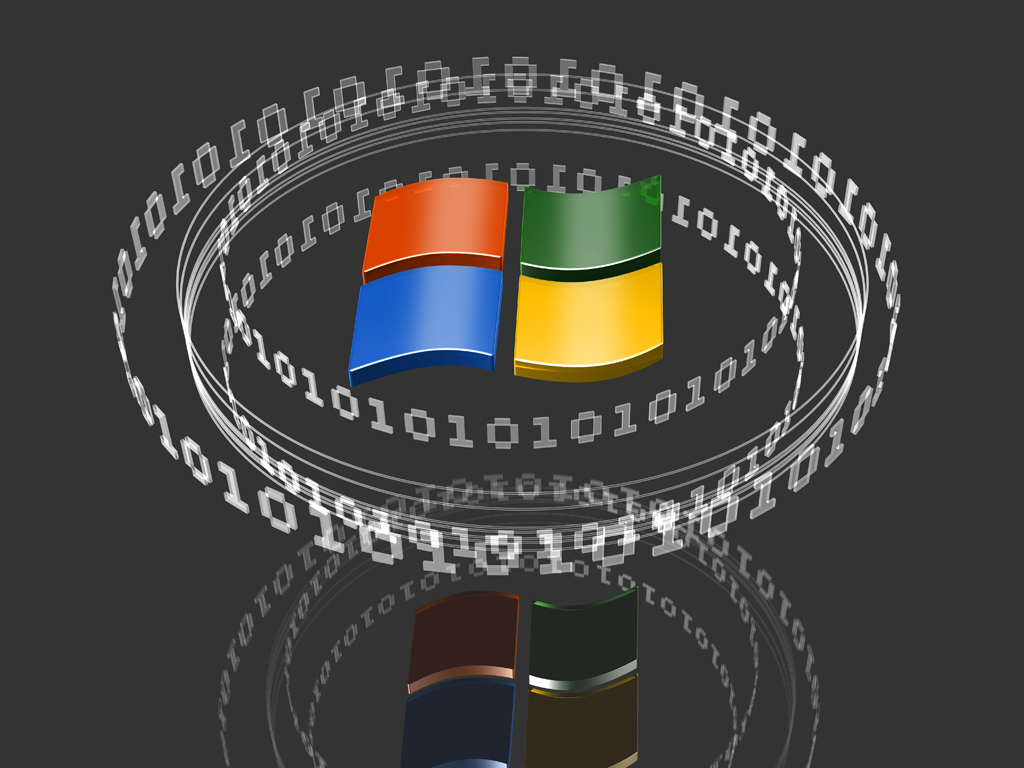 3d Microsoft logos by norebbo