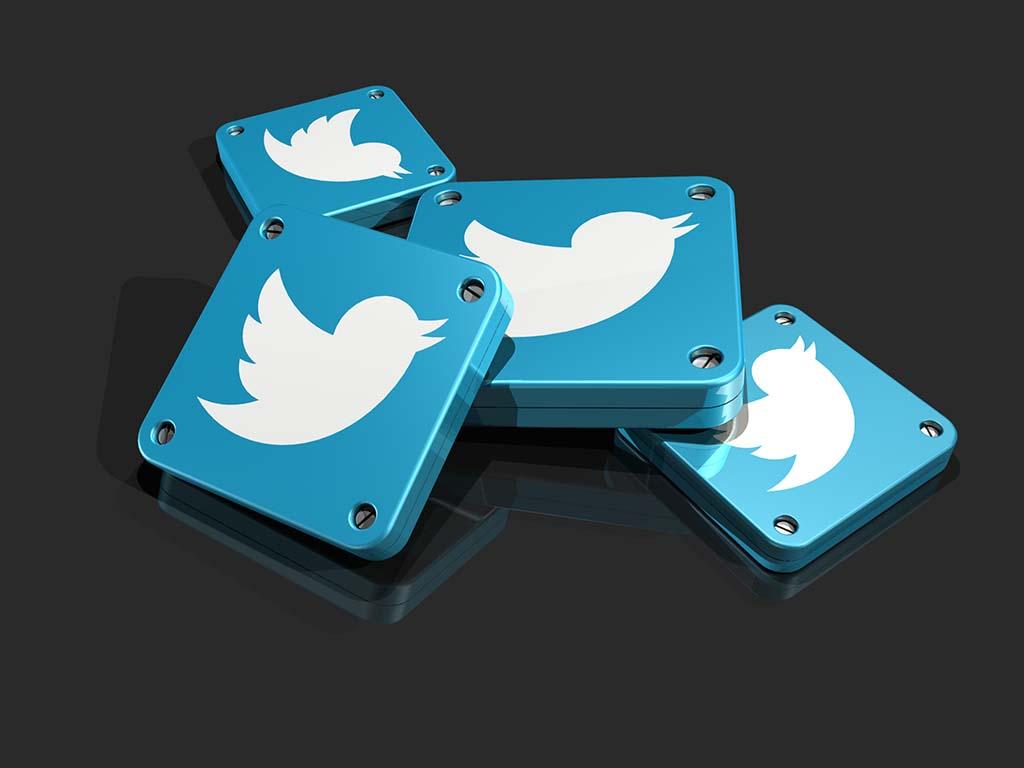 3d Twitter app icons
