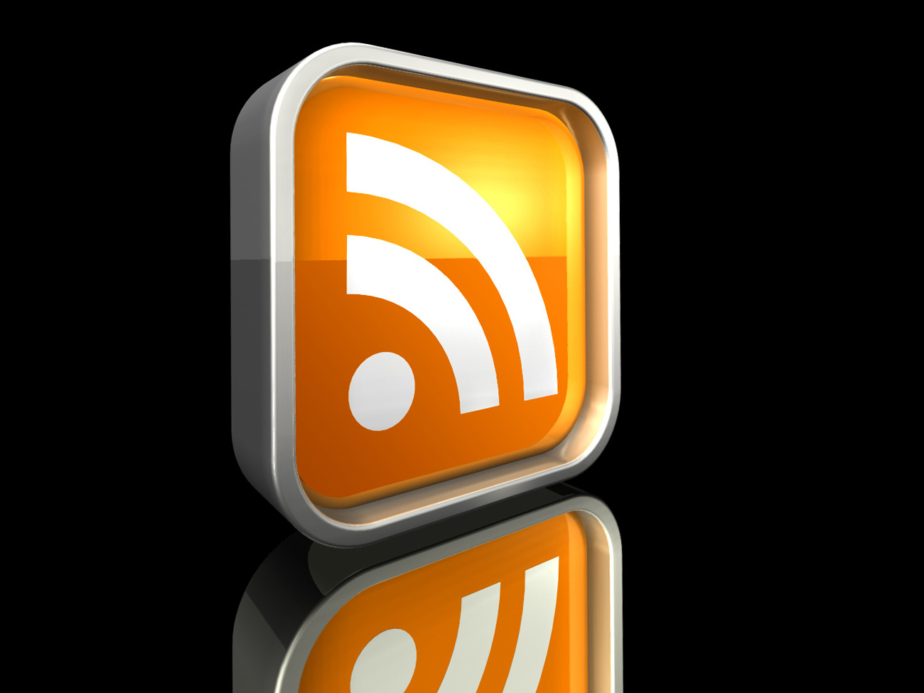Glossy RSS Icon