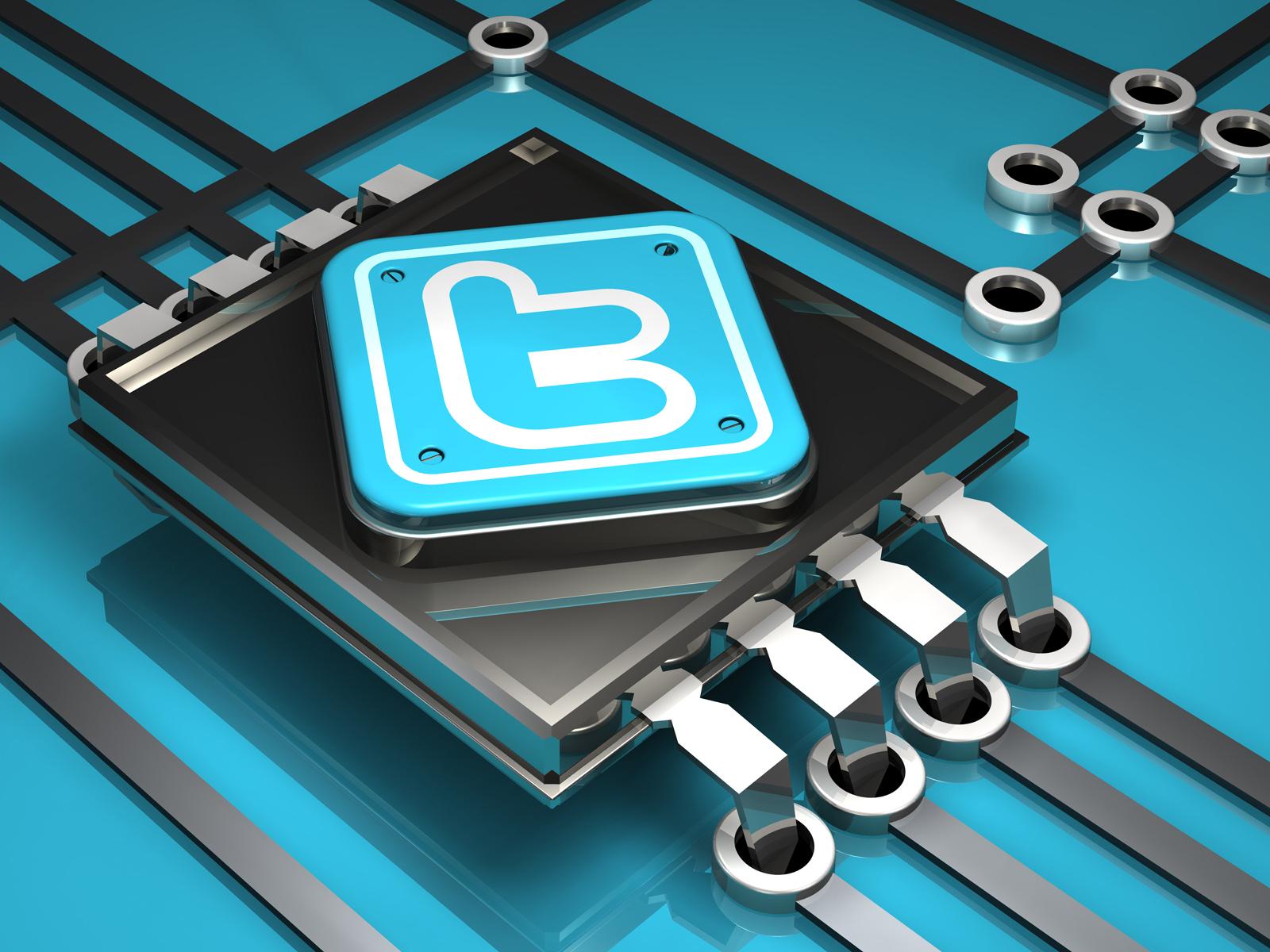 3d twitter logos by norebbo