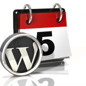 Calendar Icon: Wordpress