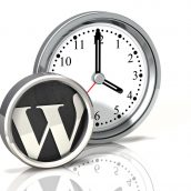 Clock Icon: Wordpress