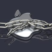 Apple Logo and Chains