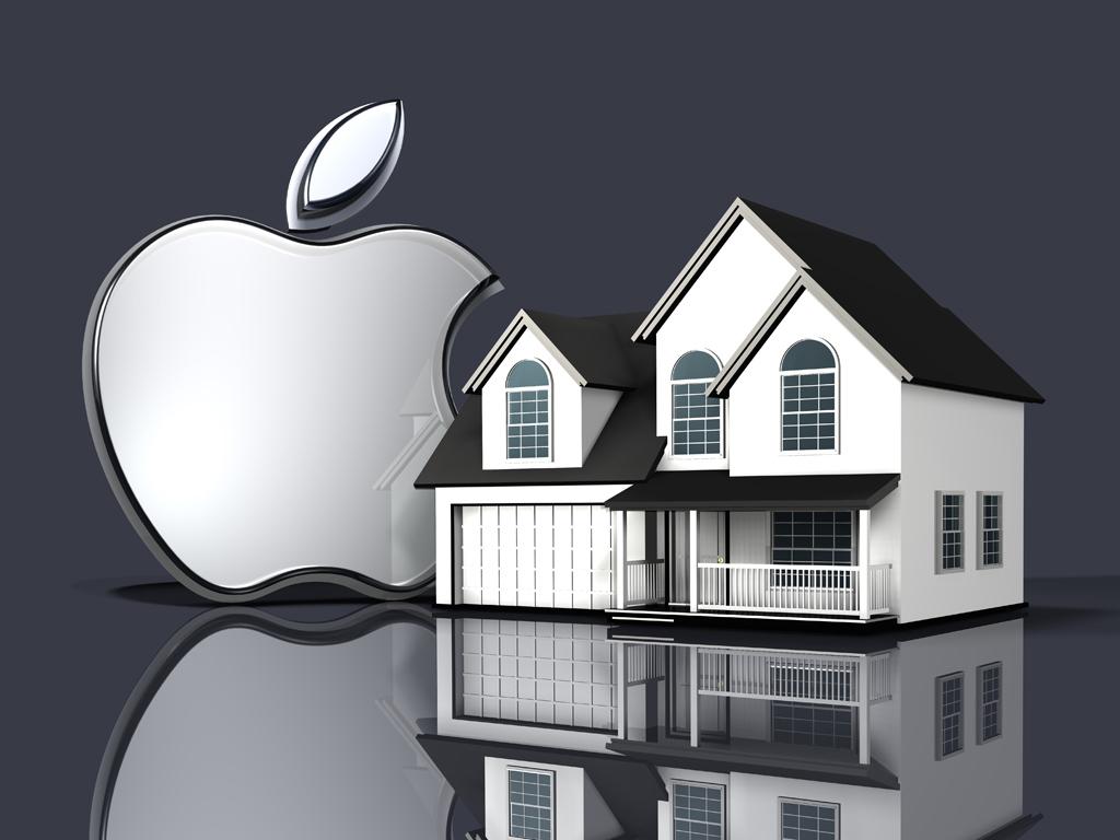 metal apple logos