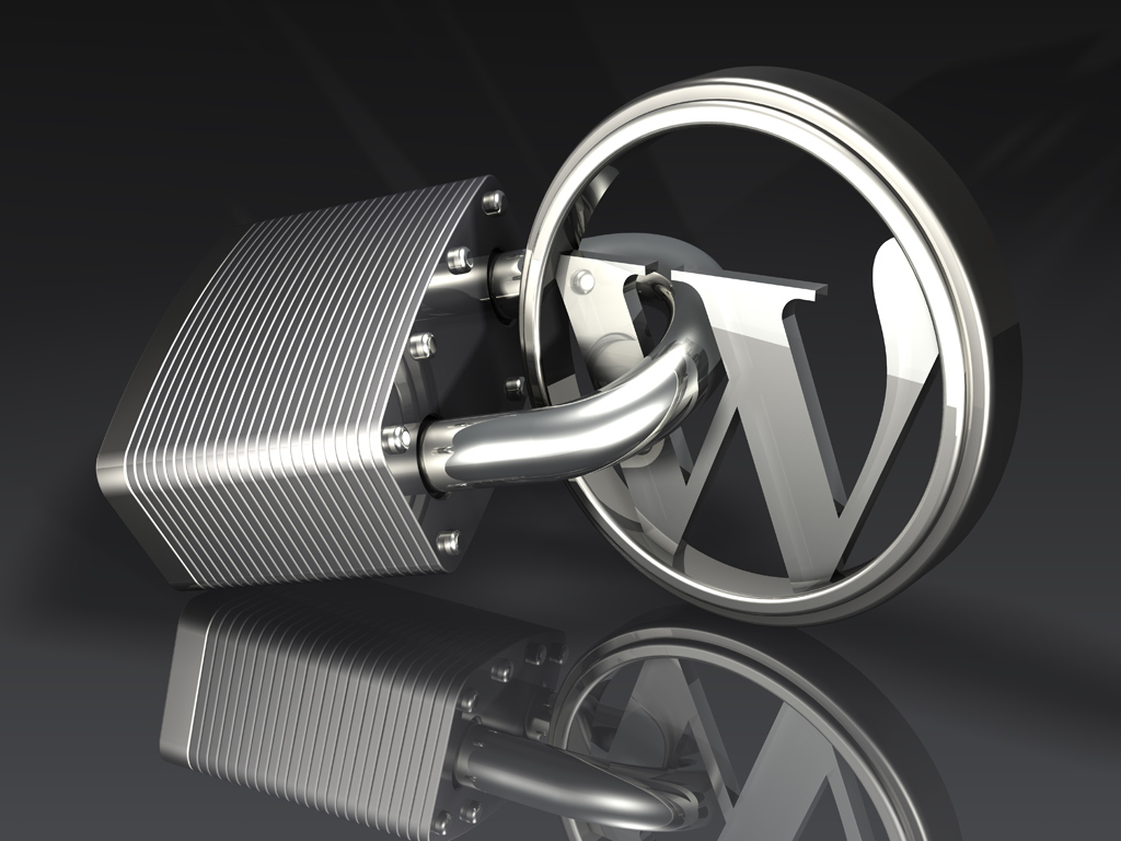 Metal WordPress logos