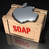 Apple Logo and Soap Box