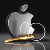 Apple Logo and Key