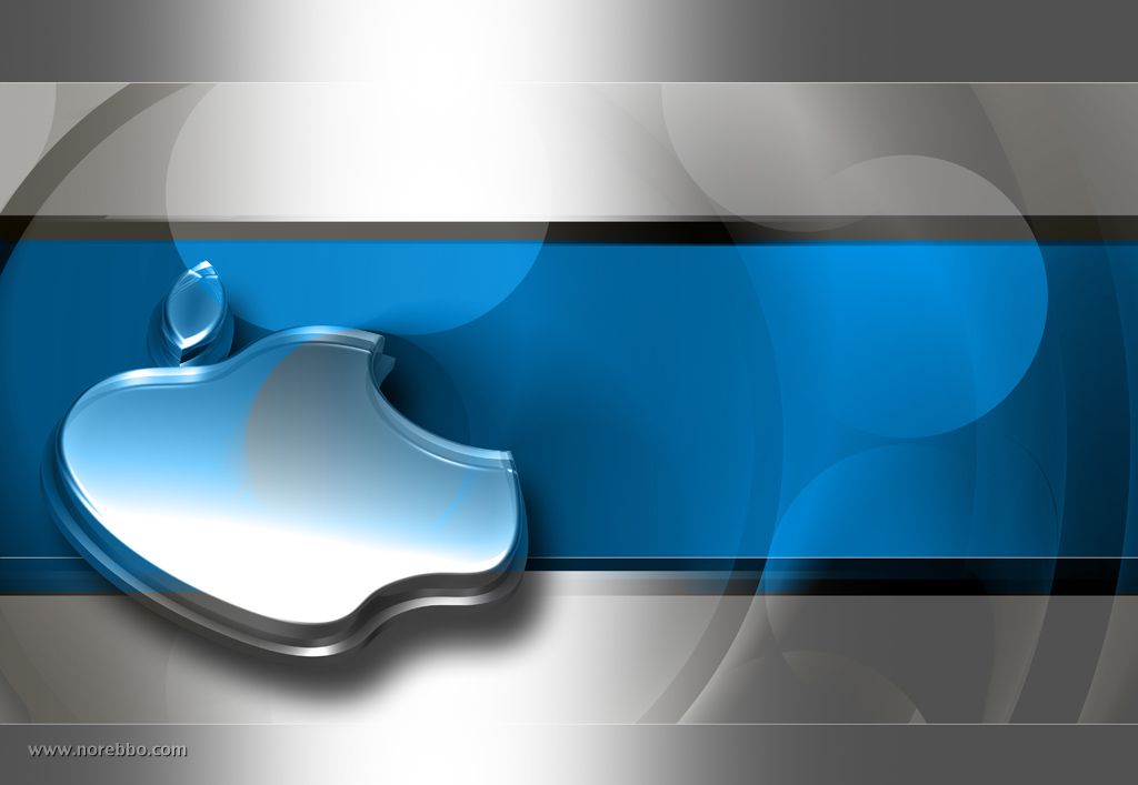 Apple norebbo 3d metal and glass apple logos toneelgroepblik Gallery