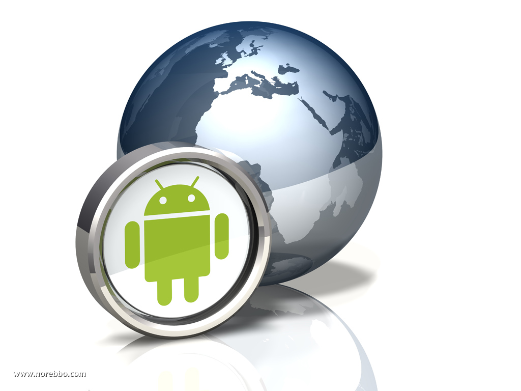 Globe Icon: Android