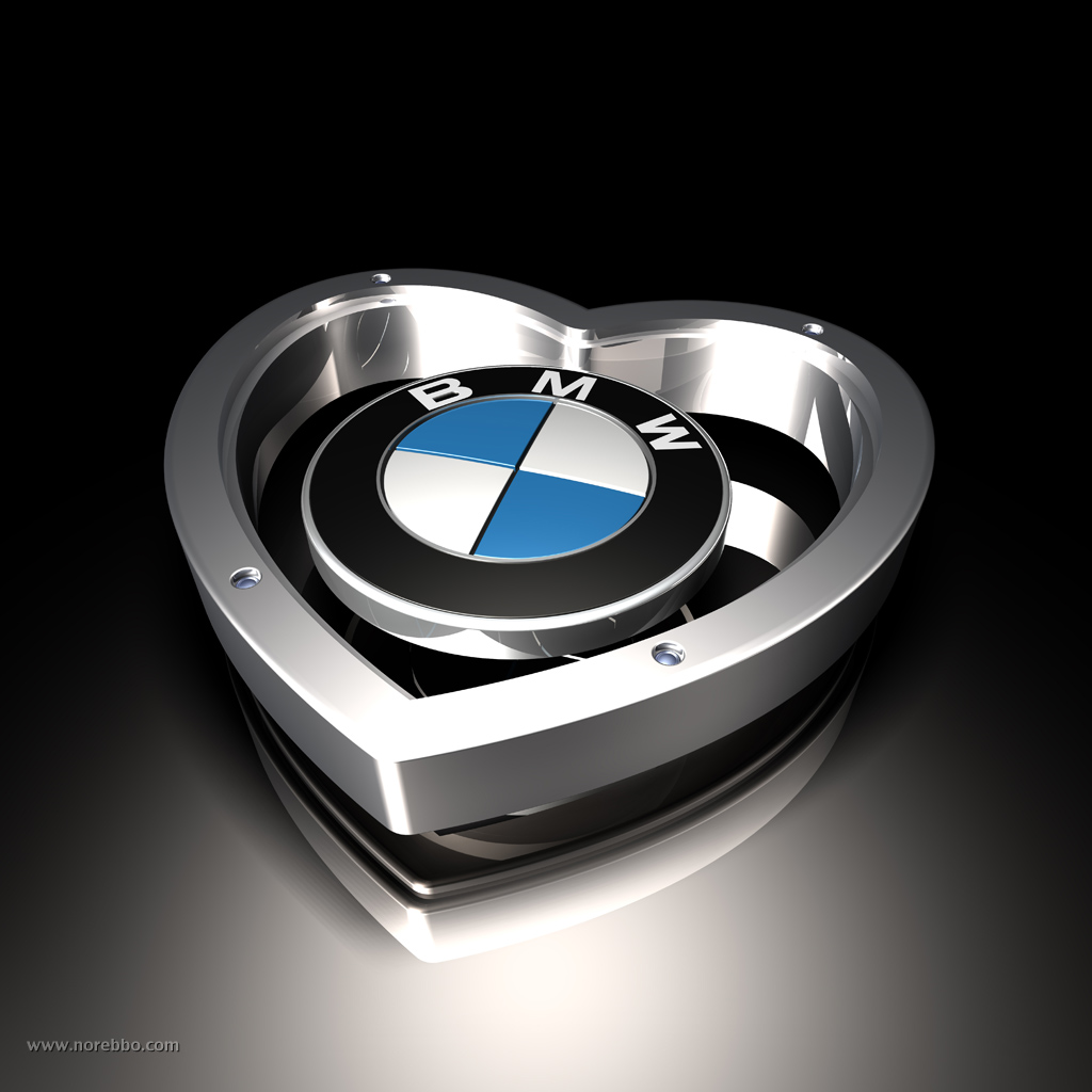 BMW Logos Posing With A Variety Of Objects