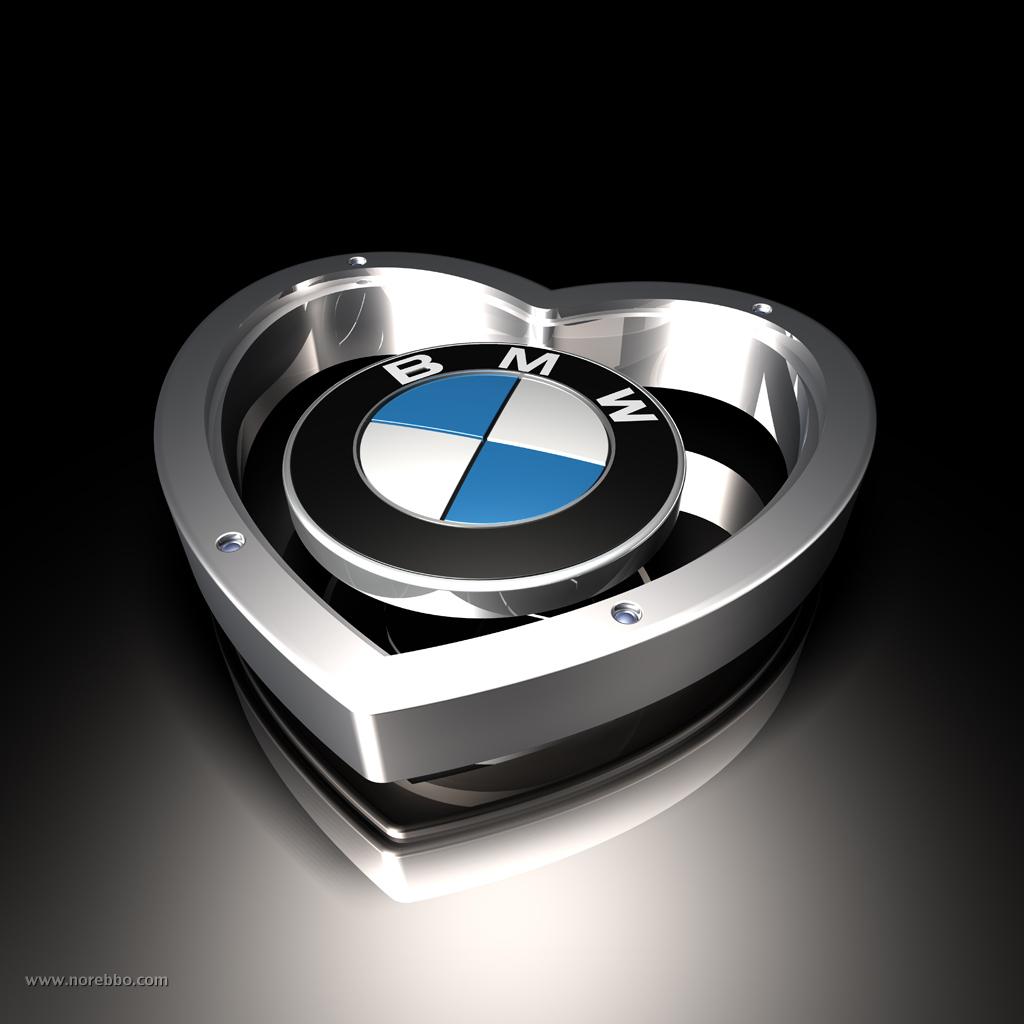 3d BMW logos