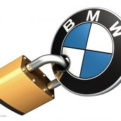 Locked BMW