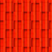 Overlapped Red Grid