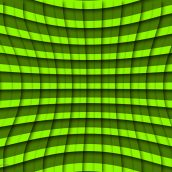Pinched Green Grid
