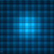Transparent Blue Grid