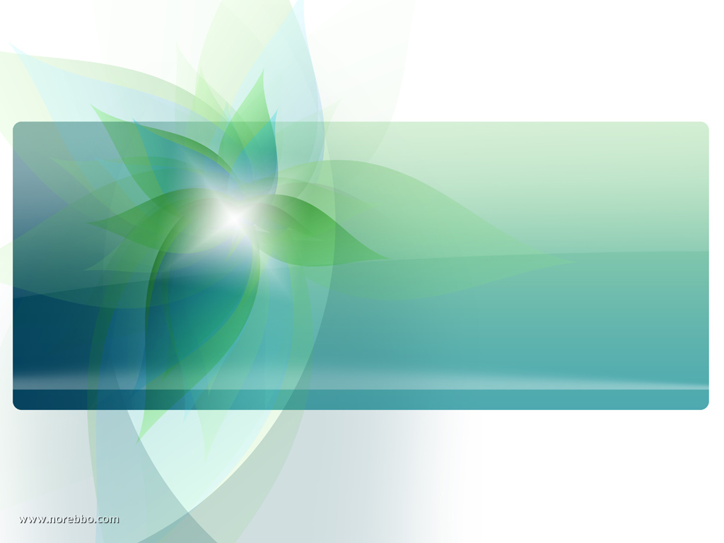 Green and Blue Leaf Background