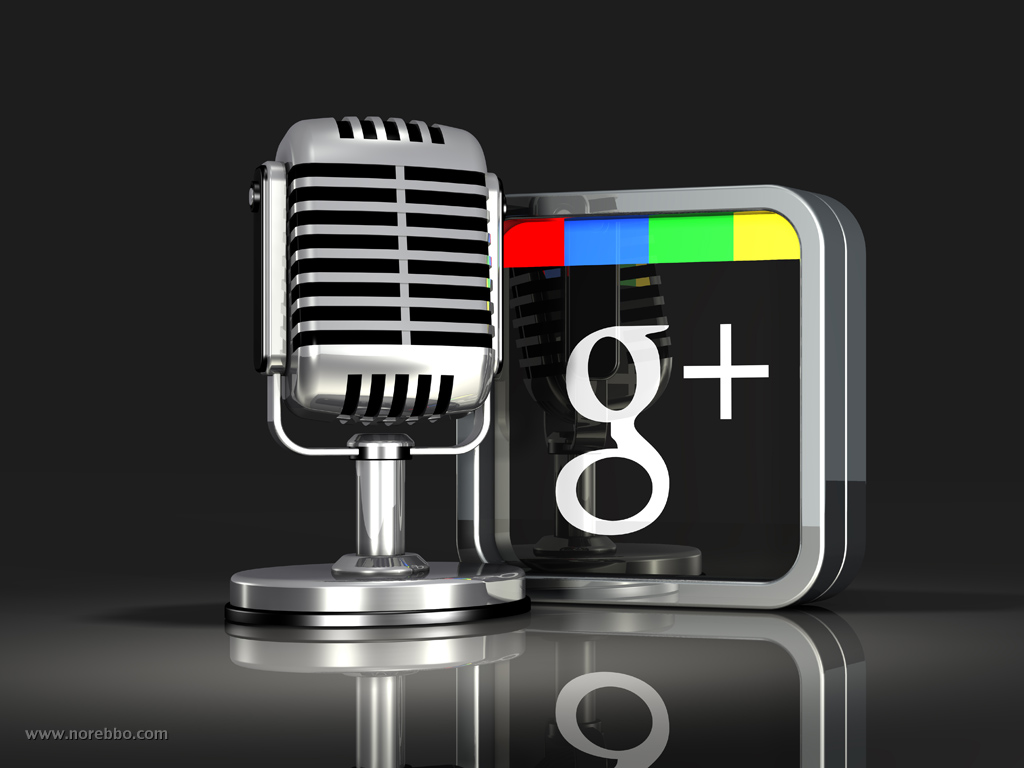 3d google plus icons