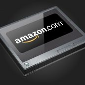 Amazon Logo on Web Tablet