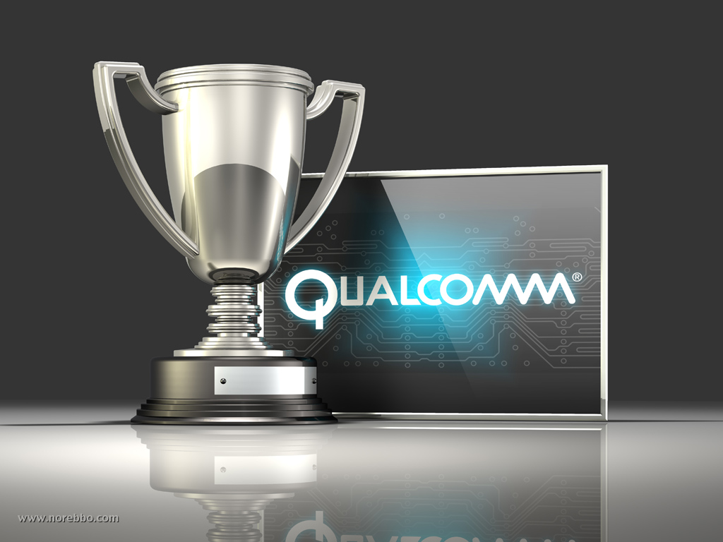 3d Qualcomm logo