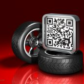 QR Code and Automotive Wheels