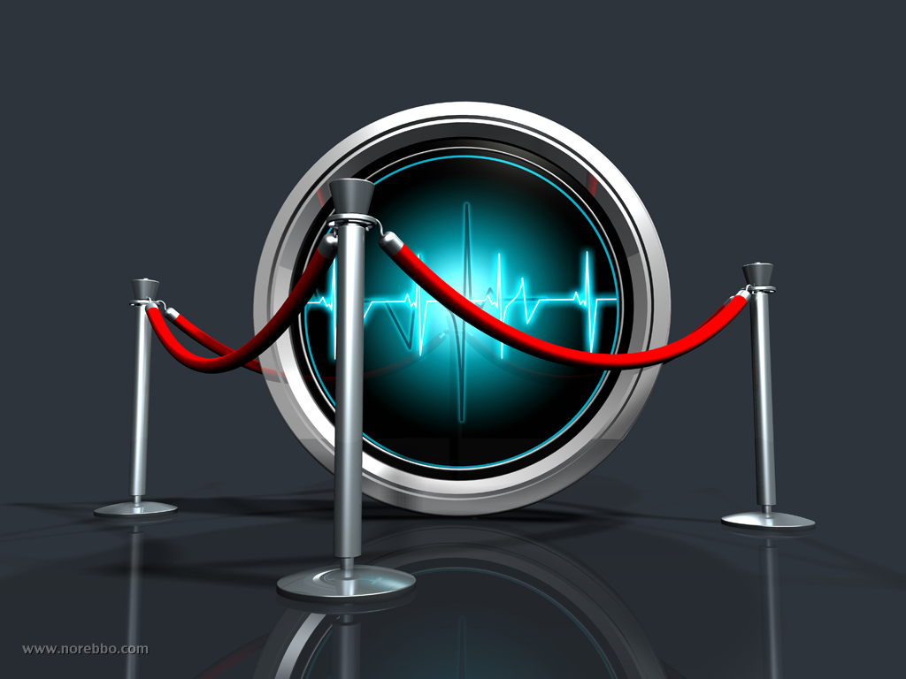 data pulse 3d icon