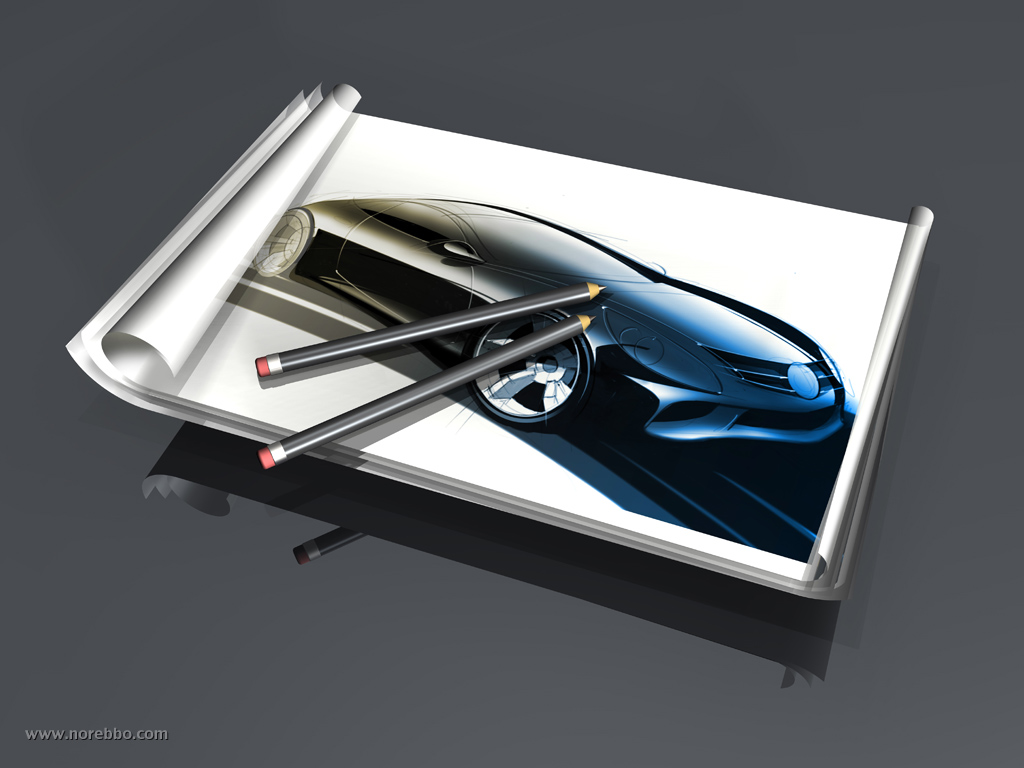 car design illustration
