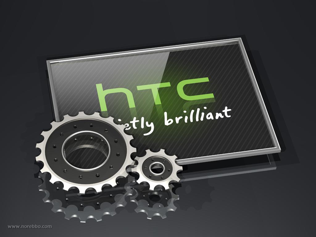 HTC 3d logo illustration