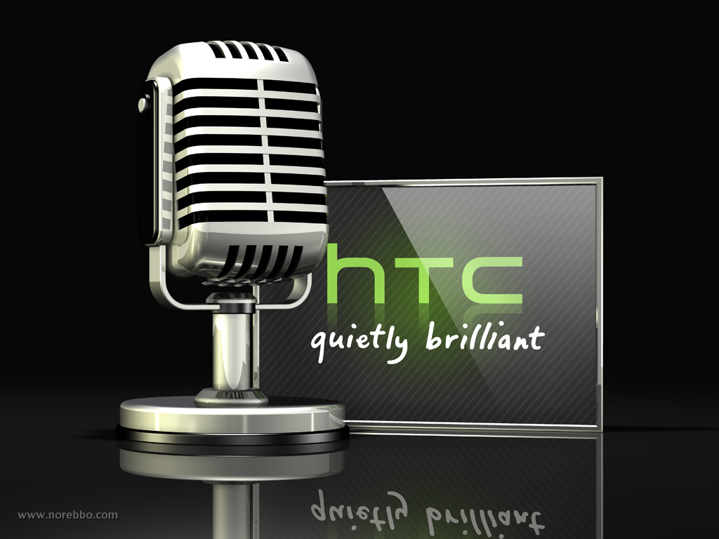 HTC 3d logo illustration