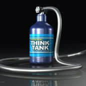 Think Tank with Long Hose