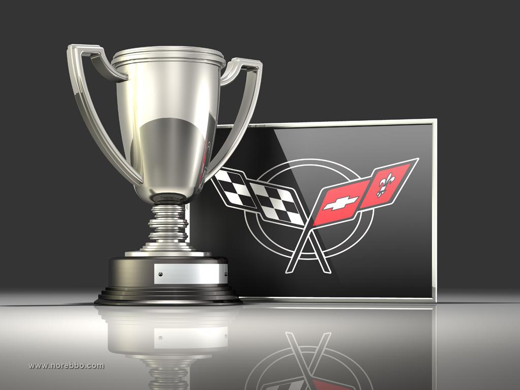 3d corvette logo