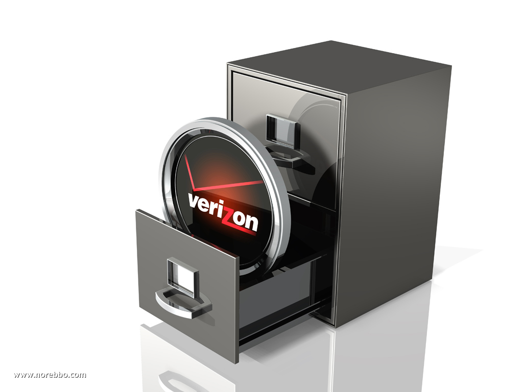 3d verizon logo