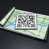 Finding Location Via QR Codes
