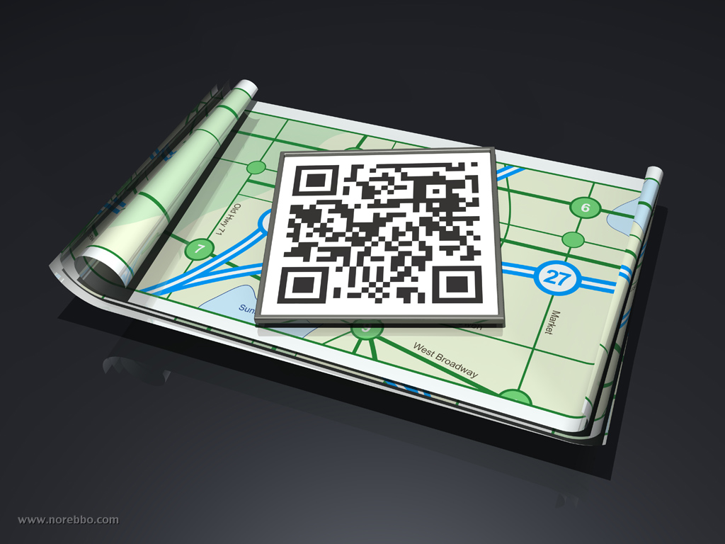3d map icon