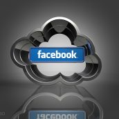 Facebook and Cloud Icon