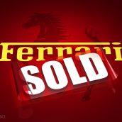 Sold Ferrari