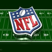 NFL Logo and Football Field