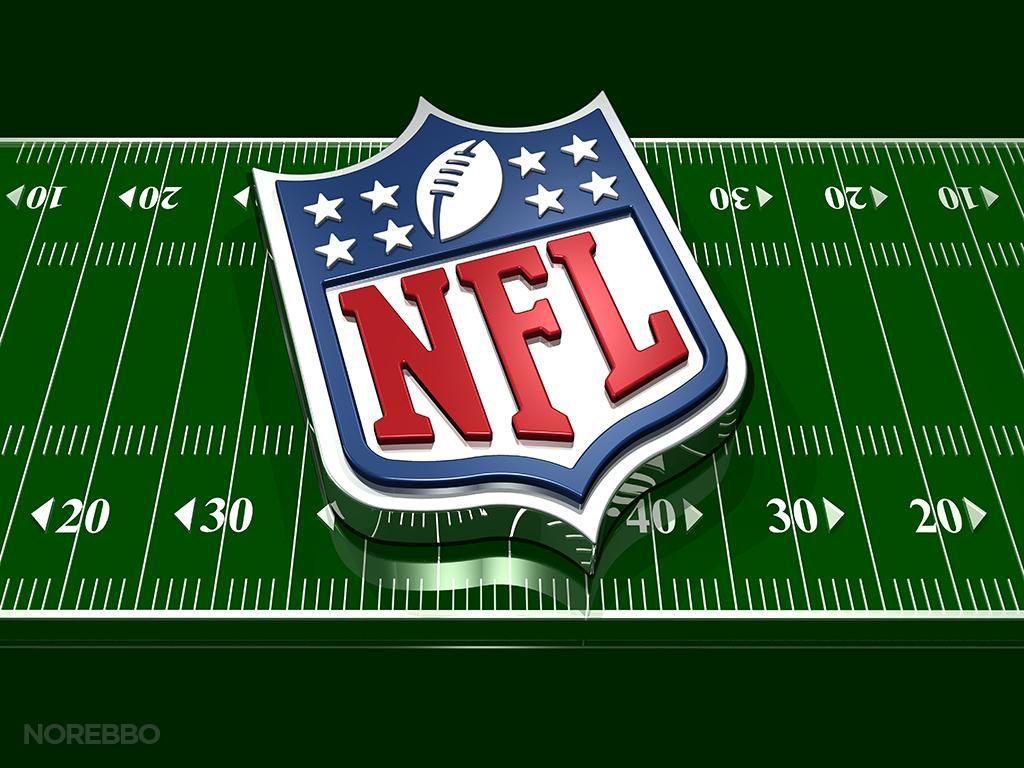 NFL Logo and Football FieldNfl Football Field Wallpaper