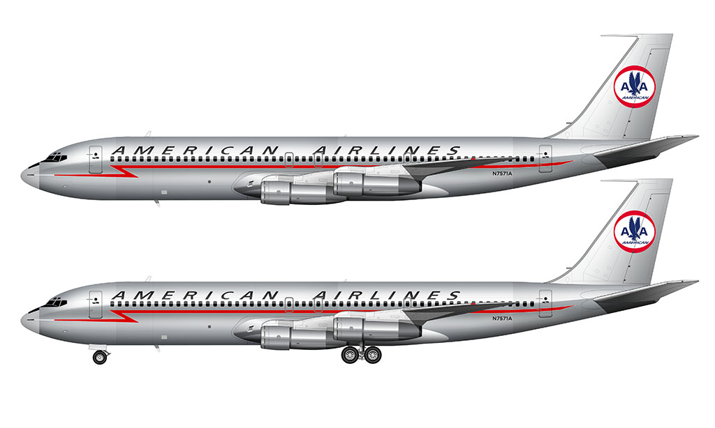 American Airlines Astrojet livery