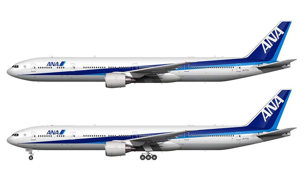 All Nippon Airways 777-381/ER