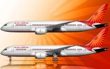 Air India 787 livery