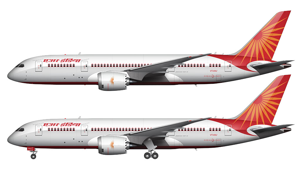 Air India livery