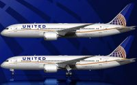 United Airlines Boeing 787-8 livery