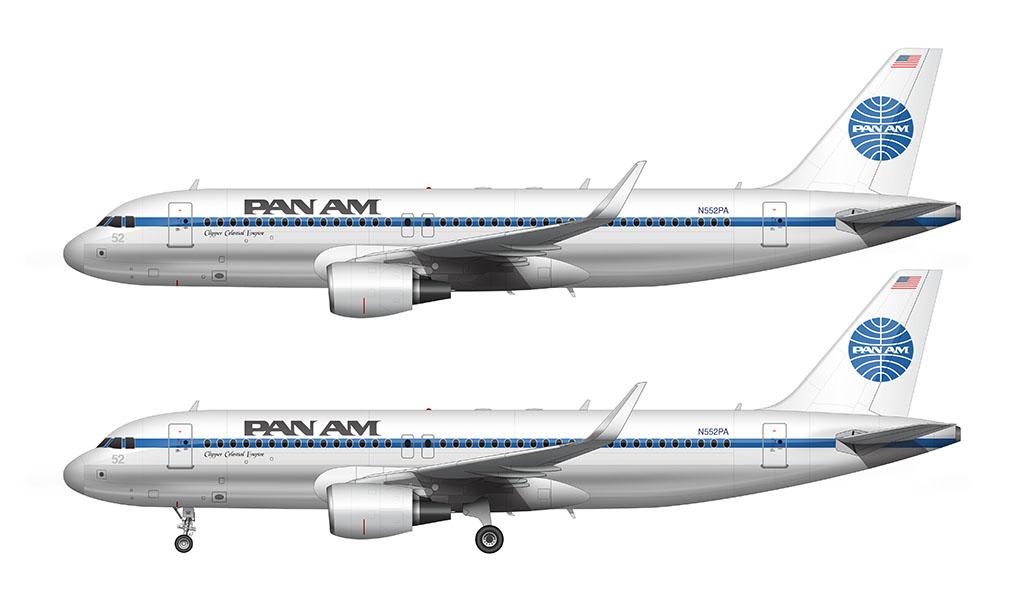 Pan Am Airbus A320