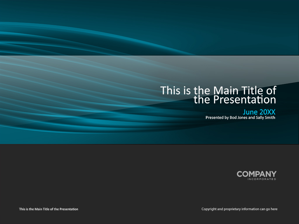 abstract transparent tubes presentation cover template – norebbo, Presentation templates
