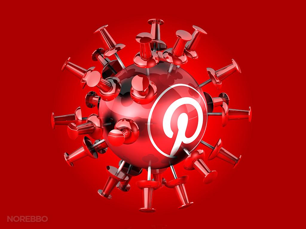 spherical Pinterest logo